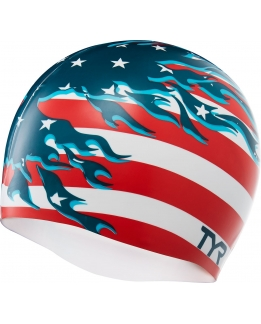 BONNET DE BAIN SILICONE BLAZING PATRIOT