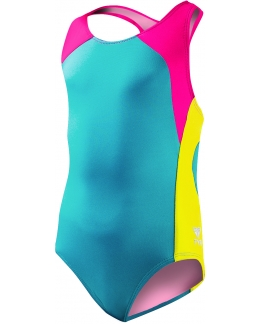 MAILLOT FILLE SOLIDS SPLICE MAXFIT
