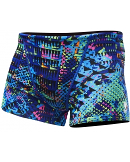 MAILLOT DE BAIN HOMME BOXER MACHU ALL OVER SQUARE LEG