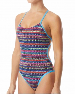 Maillot femme 1 pièce Morocco mojave cutoutfit