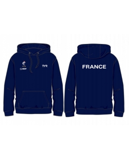 Sweat a capuche homme FFN 2018