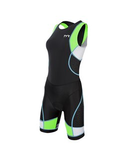 TYR Tri fonction Competitor zipper back para mujer