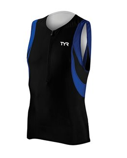 TYR Camiseta deportiva sin mangas Competitor hombre