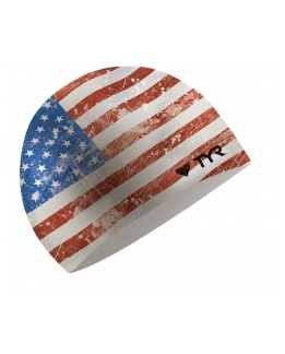 BONNET DE BAIN SILICONE OLD GLORY FLAG